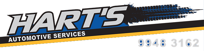 Hart's Automotive Logo footer